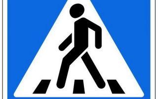Все знаки для пешеходов