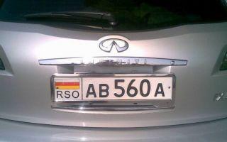 Что означают RSO на номерах?