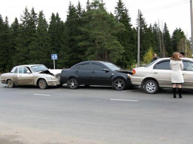 Дистанция между автомобилей