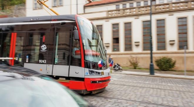 Движение по трамвайным путям