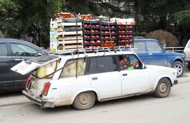 Перегруз легкового автомобиля