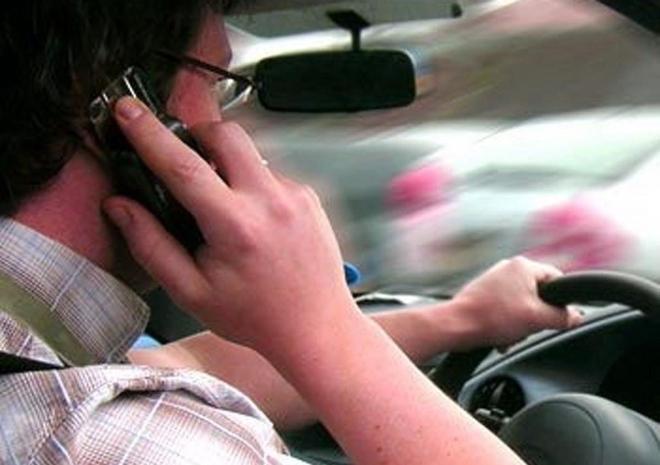 Штраф за телефон за рулем