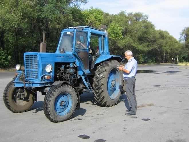 Документы для техосмотра тракторов