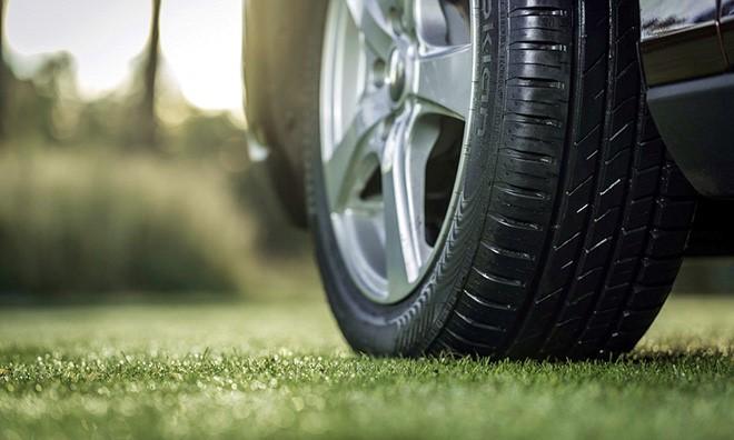 Глубина протектора шины