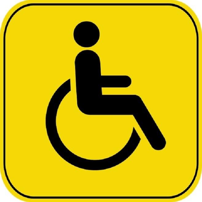 Нужен или нет знак Инвалид?