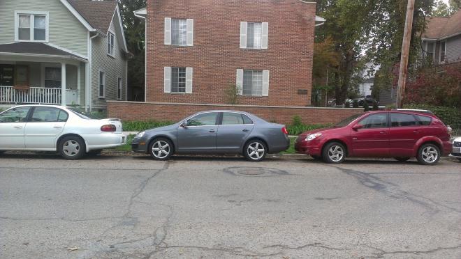 Параллельная парковка