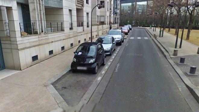 Упражнение параллельная парковка