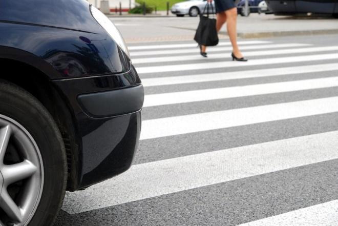 Правила на пешеходном переходе