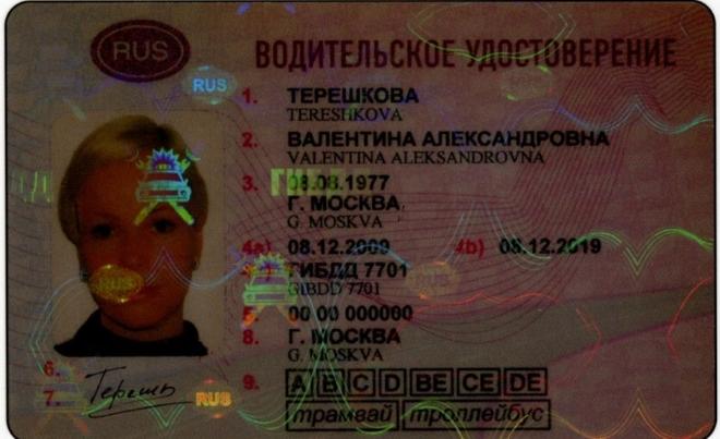 Подделка водительских прав
