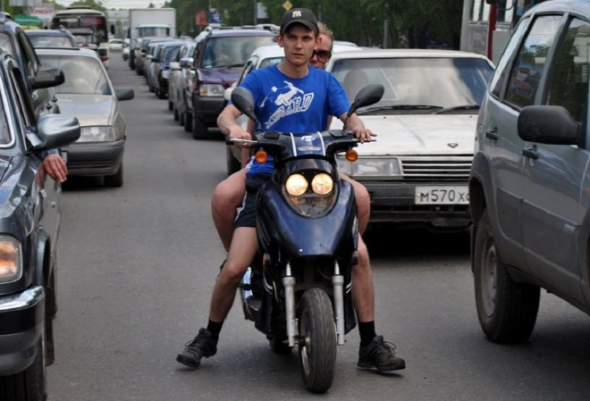 Получение прав на скутер