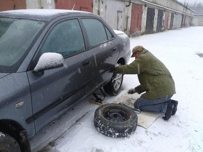 Когда менять зимнюю резину?